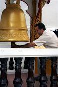 Chris Ringing Bell