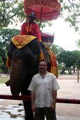 Chris and Elephant