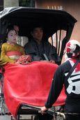 First Glimpse of a Geisha