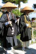 Monks Begging for Alms