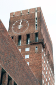 Oslo - Town Hall - Clock tower