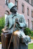 Copenhagen - Hans Christian Anderson Statue