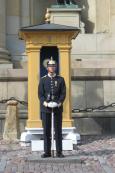 Stockholm - palace guard