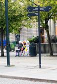 Oslo - Clowns on break