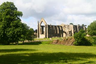 7 Bolton Abbey  from afar