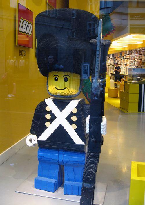 Copenhagen - Lego store