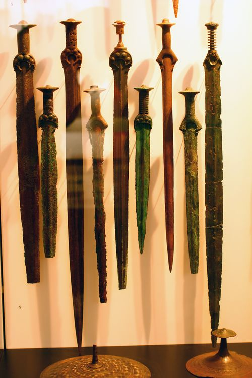 Copenhagen - National Museum - Viking swords