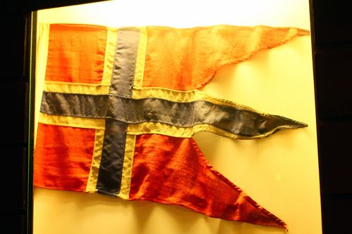 Oslo - Resistance Museum - flag