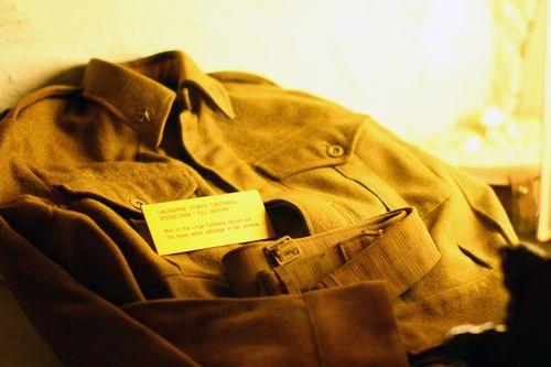 Oslo - Resistance Museum - Uniform