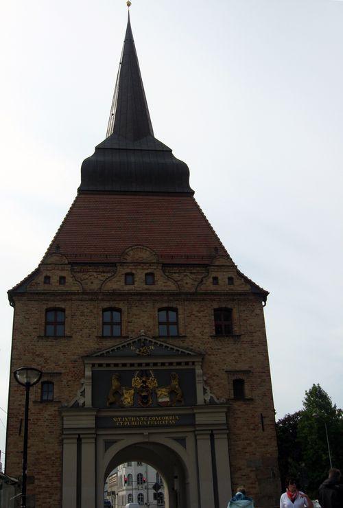 Rostock - Hanseatic gate