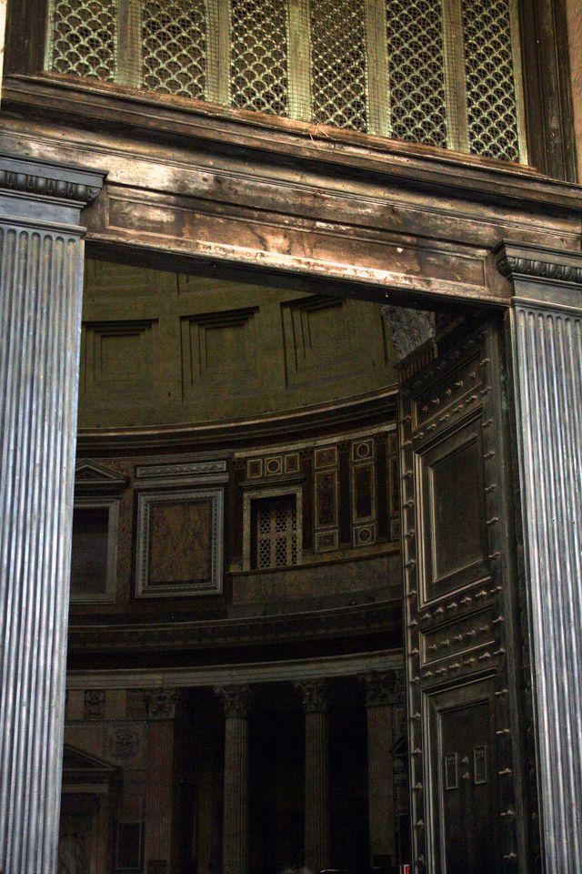 Pantheon Doorway