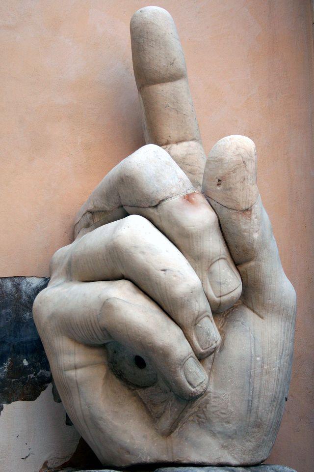 Colossus Hand