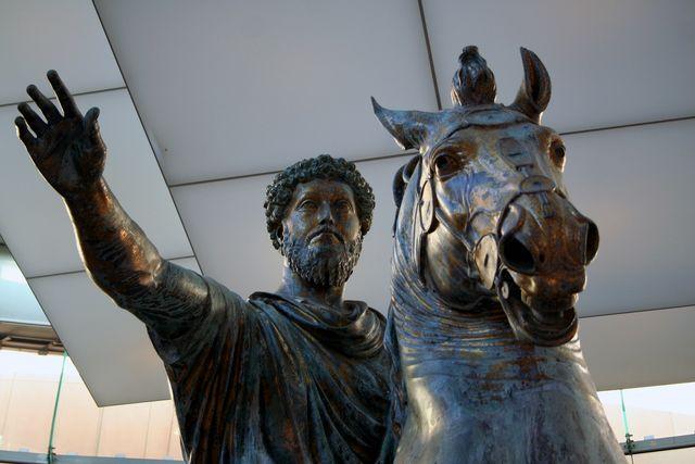 Marcus Aurelius Close-Up