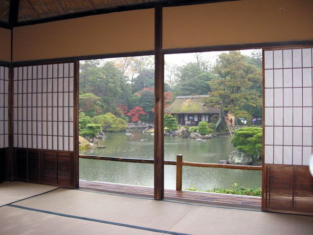Katsura Villa View