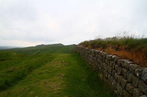 4 Hadrian's Wall - along the wall