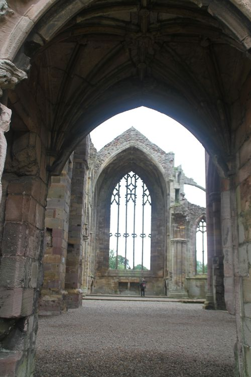 4 Melrose Abbey - Ruins