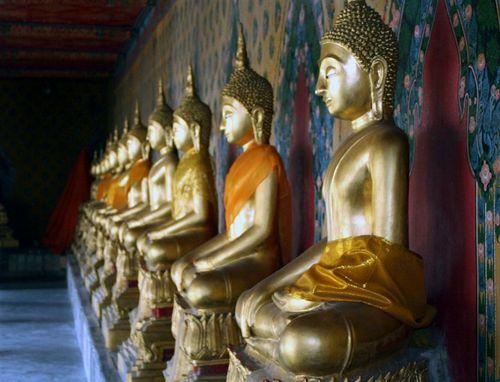 Buddha Peristyle
