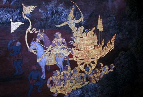 Gold Leaf Mural