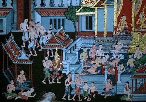 Wat Pho Mural