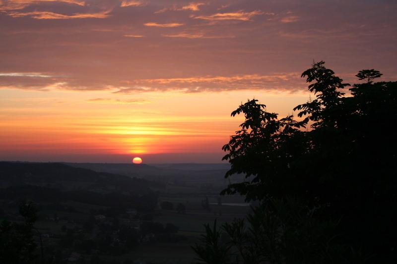 Lauzerte_sunrise