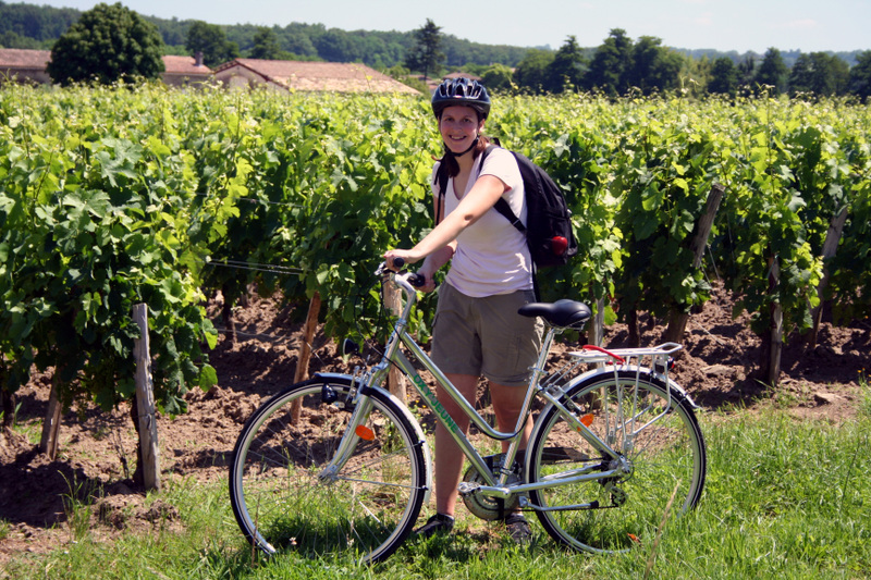 St_emilion_jess_and_bike